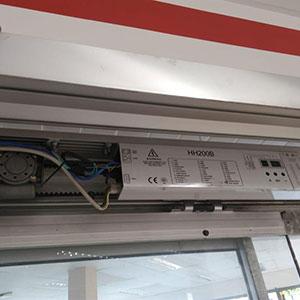 Instalação de Porta Automática com Sensor